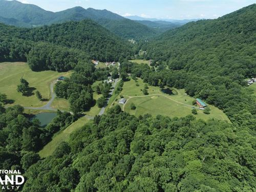 Mountain Views With Creek Minutes : Bakersville : Mitchell County : North Carolina