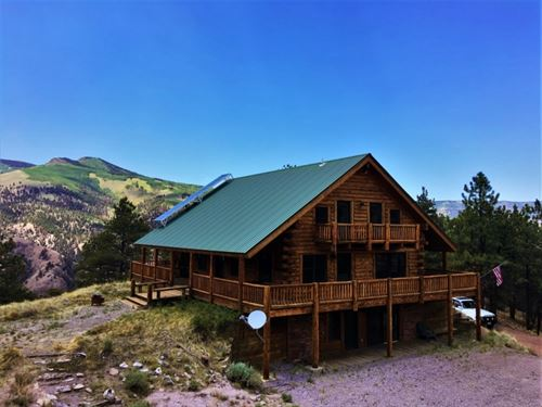 Steel Park Skyline Cabin : Lake City : Hinsdale County : Colorado