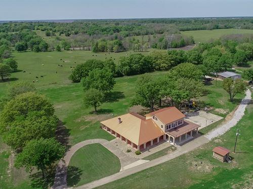 Sulphur River Ranch 468+ Acres : Sulphur Bluff : Franklin County : Texas