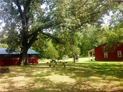 Home on 40 Acres For Sale in Riple : Doniphan : Ripley County : Missouri