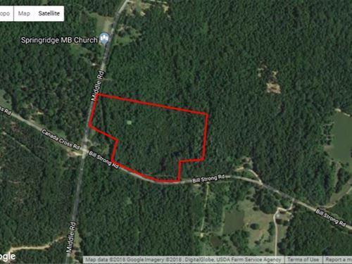 Just Reduced, 22 Acres Located : Edwards : Hinds County : Mississippi