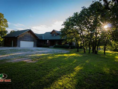 488 Acres With 3900 Sq. Ft. Home : Niotaze : Chautauqua County : Kansas