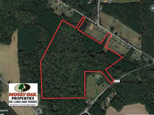 Reduced, 62.5 Acres of Hunting an : Middlesex : Nash County : North Carolina