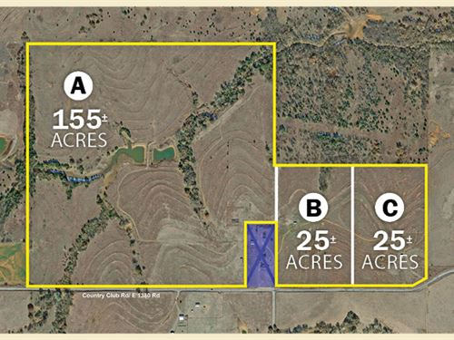 Land Auction In 3 Tracts : Chickasha : Grady County : Oklahoma