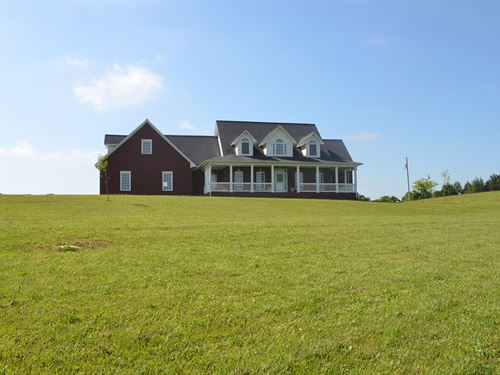 181A Prime Farmland With Brick Home : Edmonton : Metcalfe County : Kentucky