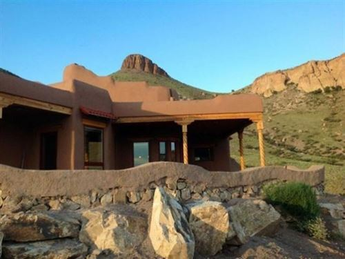 Energy Efficient Adobe Compound In : Hillsboro : Sierra County : New Mexico