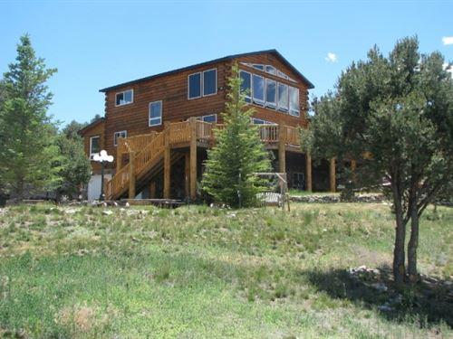Colorado Mountain Home With Expansi : South Fork : Rio Grande County : Colorado