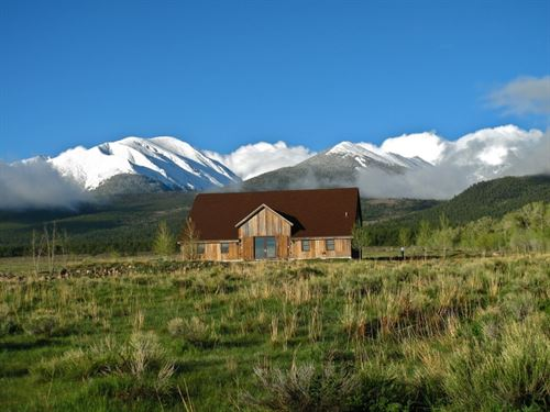 Reclaimed Barnwood Home/Cabin In We : Westcliffe : Custer County : Colorado