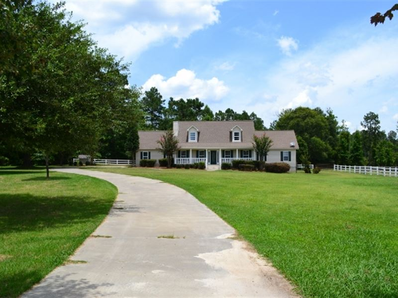 Willow Pond Farm : Ranch for Sale : East Dublin : Laurens County