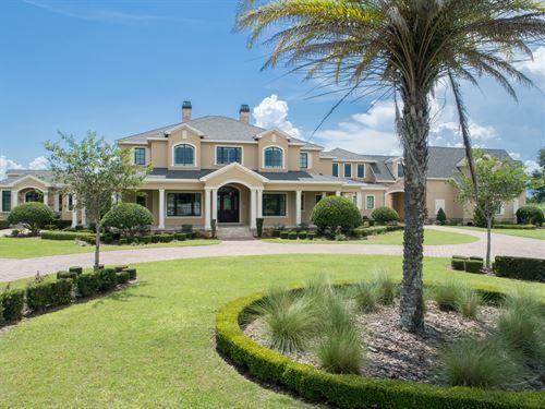 Luxury Equestrian Estate : Lady Lake : Lake County : Florida