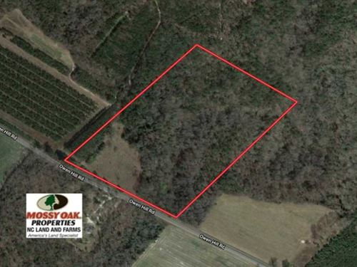 25 Acres of Land For Sale in Blade : Elizabethtown : Bladen County : North Carolina