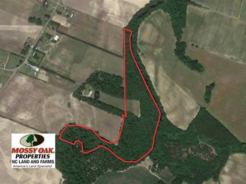 Under Contract, 26.57 Acres of Hu : Trenton : Jones County : North Carolina