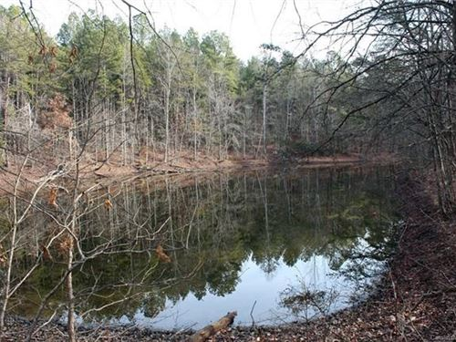 Cherryville Nc Acreage With Pond : Cherryville : Gaston County : North Carolina