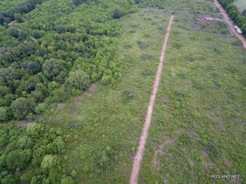 37 Ac, Partially Wooded Tract Near : Monroe : Ouachita Parish : Louisiana