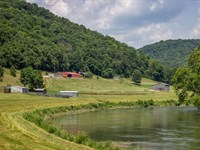 128 Acres On The Clinch River : Tazewell : Hancock County : Tennessee