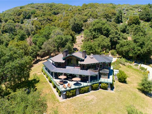 Exclusive Southern Cali Estate : Palomar Mountain : San Diego County : California