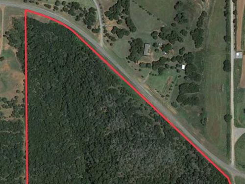33 Acres of Solid Woods, Borders : Cogar : Caddo County : Oklahoma