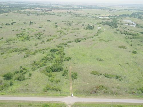 160 Acres Grass Pasture & Minerals : Byron : Alfalfa County : Oklahoma