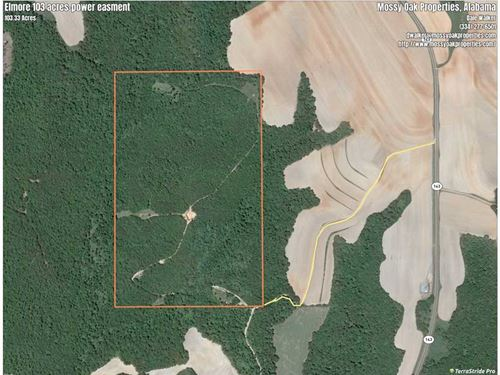 Great Hunting Tract in Elmore Coun : Deatsville : Elmore County : Alabama