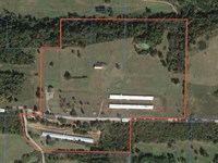 45 Acre Horse Farm With 4 Br Home : Altus : Franklin County : Arkansas