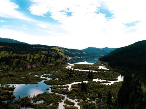 Magnificence At Many Rivers : Seeley Lake : Missoula County : Montana