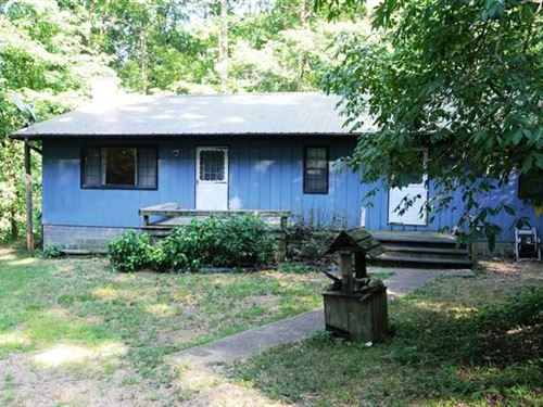 Riverfront Home on 10 Acres For Sa : Fairdealing : Ripley County : Missouri