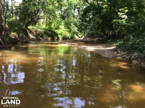 The Big Tallawampa Creek 25 Tract : Gilbertown : Choctaw County : Alabama