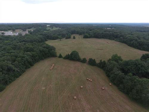 Reduced 115 Acre Combination Farm : Richland : Pulaski County : Missouri