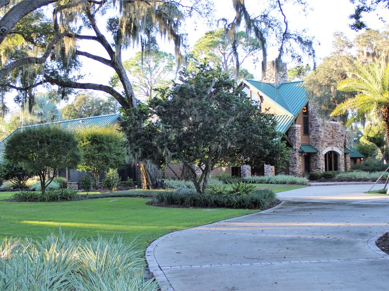 Striking Home On 19 75 Acres Ranch For Sale Leesburg Lake