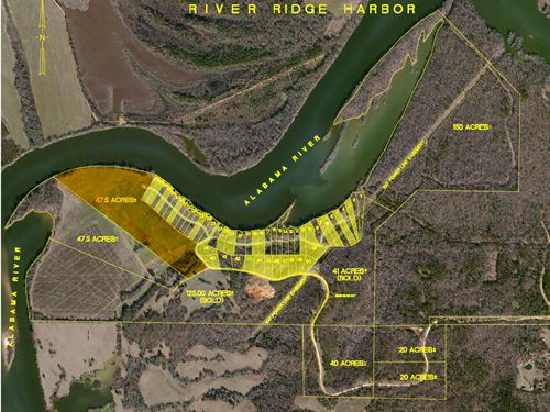 47.5 Acres-East-River Ridge Harbor : Montgomery : Alabama