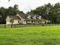 Prestigious Equestrian Estate Kraus : Dade City : Pasco County : Florida