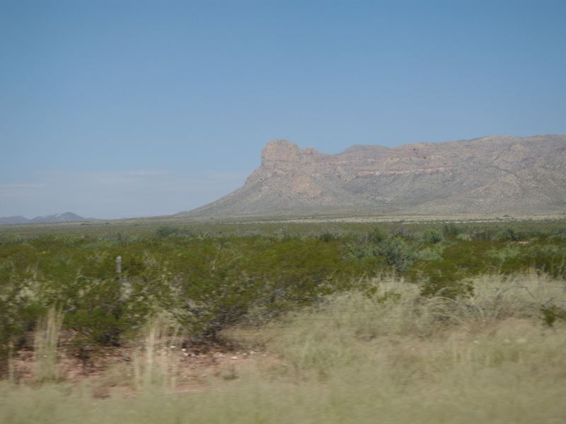 20 Acres In Sierra Blanca, TX : Sierra Blanca : Hudspeth County : Texas