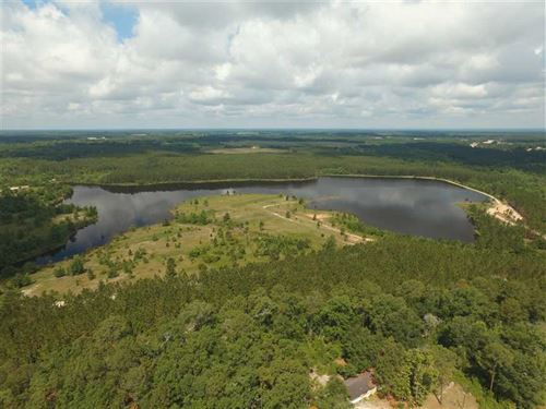 10.8 Acre Lake Front Estate Lot 7 : Baxley : Appling County : Georgia
