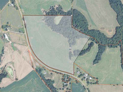 25 Acres And A Pond : Forsyth : Monroe County : Georgia
