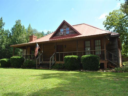 Mini Farm With Home - Tallapoosa Co : Alexander City : Tallapoosa County : Alabama