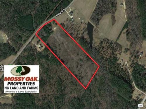 Under Contract, 23 Acres of Resid : Bunnlevel : Harnett County : North Carolina