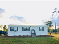 59+ Acres, Price Reduced : Wellborn : Suwannee County : Florida