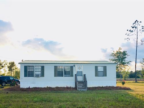 59+ Acres - Price Reduced : Wellborn : Suwannee County : Florida