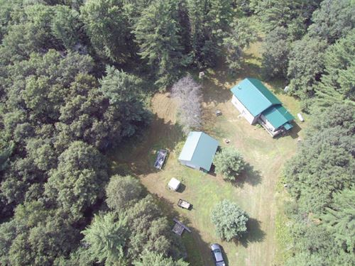 Private Estate On 80 Acres : Neillsville : Clark County : Wisconsin