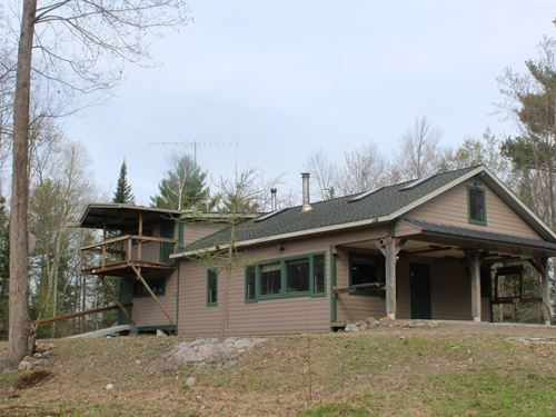 Off The Grid Cabin And Hunting Land : Gilman : Taylor County : Wisconsin