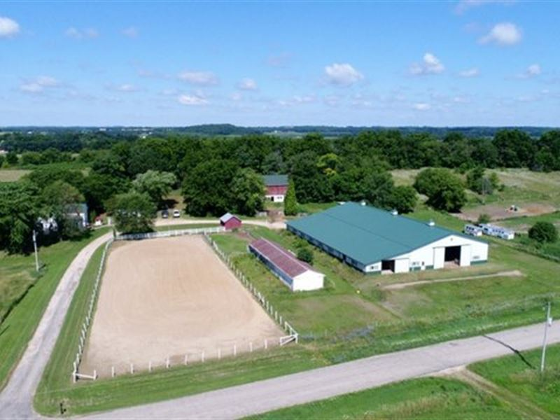 Amazing 87 Acres With Horse Arena : Ranch for Sale ...