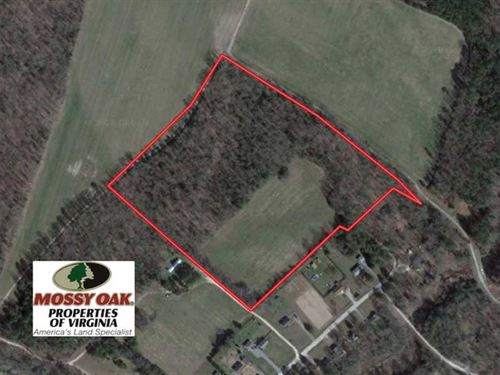 20 Acres of Farm And Timber Land : Walkerton : King And Queen County : Virginia