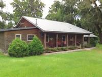 73+ Acres On Ratliff Creek : Jasper : Hamilton County : Florida