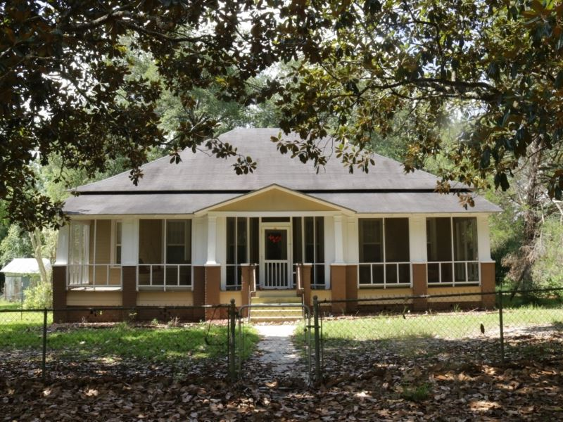 86.5 Acres With A Home In Perry Cou : McLain : Perry County : Mississippi