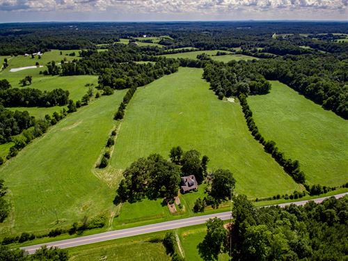 Beautiful 76+ Acre Farm : Siler City : Chatham County : North Carolina