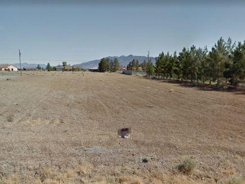 Beautiful Lot With Mountain Views : Pahrump : Nye County : Nevada