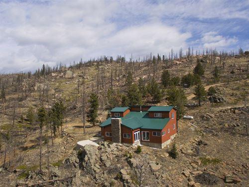 Stove Prairie Retreat : Bellvue : Larimer County : Colorado