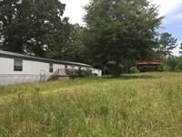 Home W/Acreage In Little River Area : Abbeville : Abbeville County : South Carolina