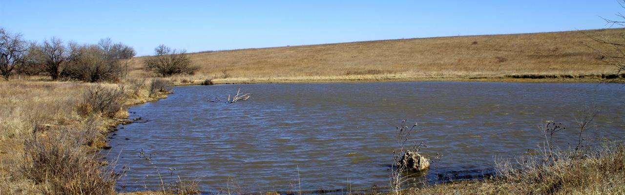 Beautiful Pond And Meadow Retreat : Niotaze : Chautauqua County : Kansas