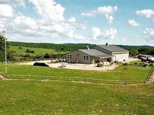 Beyond One-Of-A-Kind Cattle Ranch : Thornfield : Ozark County : Missouri